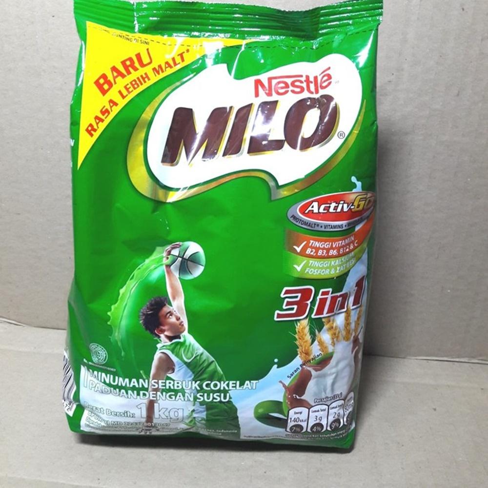 minuman cokelat MILO